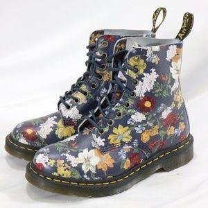 DR. MARTENS 1460 Pascal DF Floral Boots